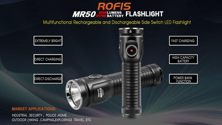 Rofis MR50 - 2500 Lumens